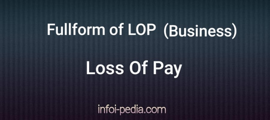 full form of lop