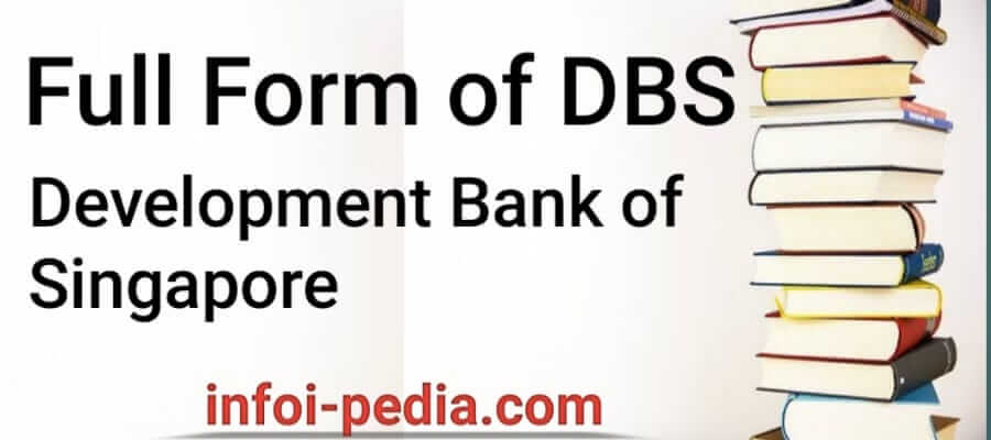 DBS full form, What is the Full form of DBS-Banking